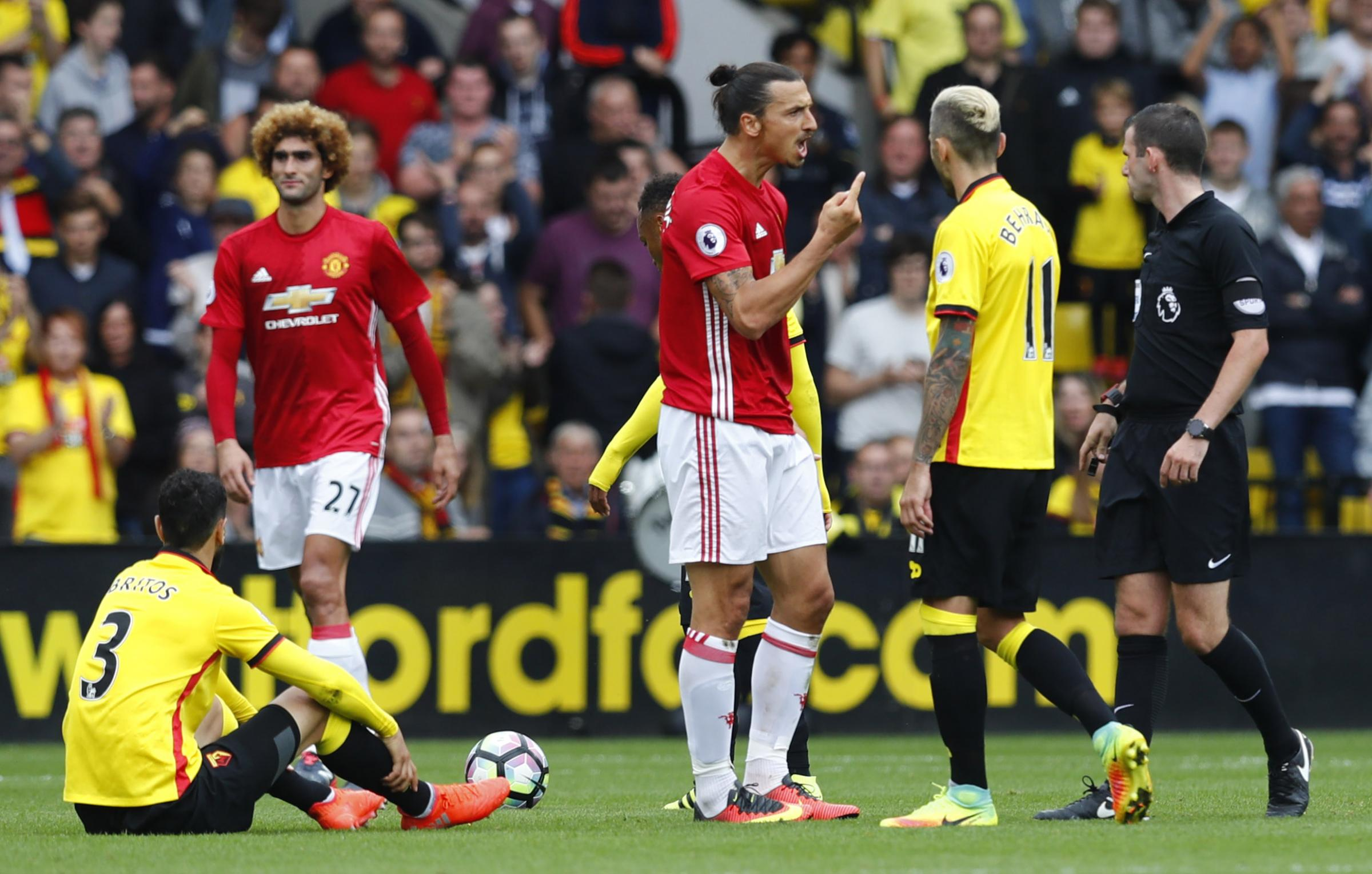 Mourinho blames refereeing decisions, defensive mistakes for loss to Watford